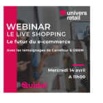 Webinar Live Shopping