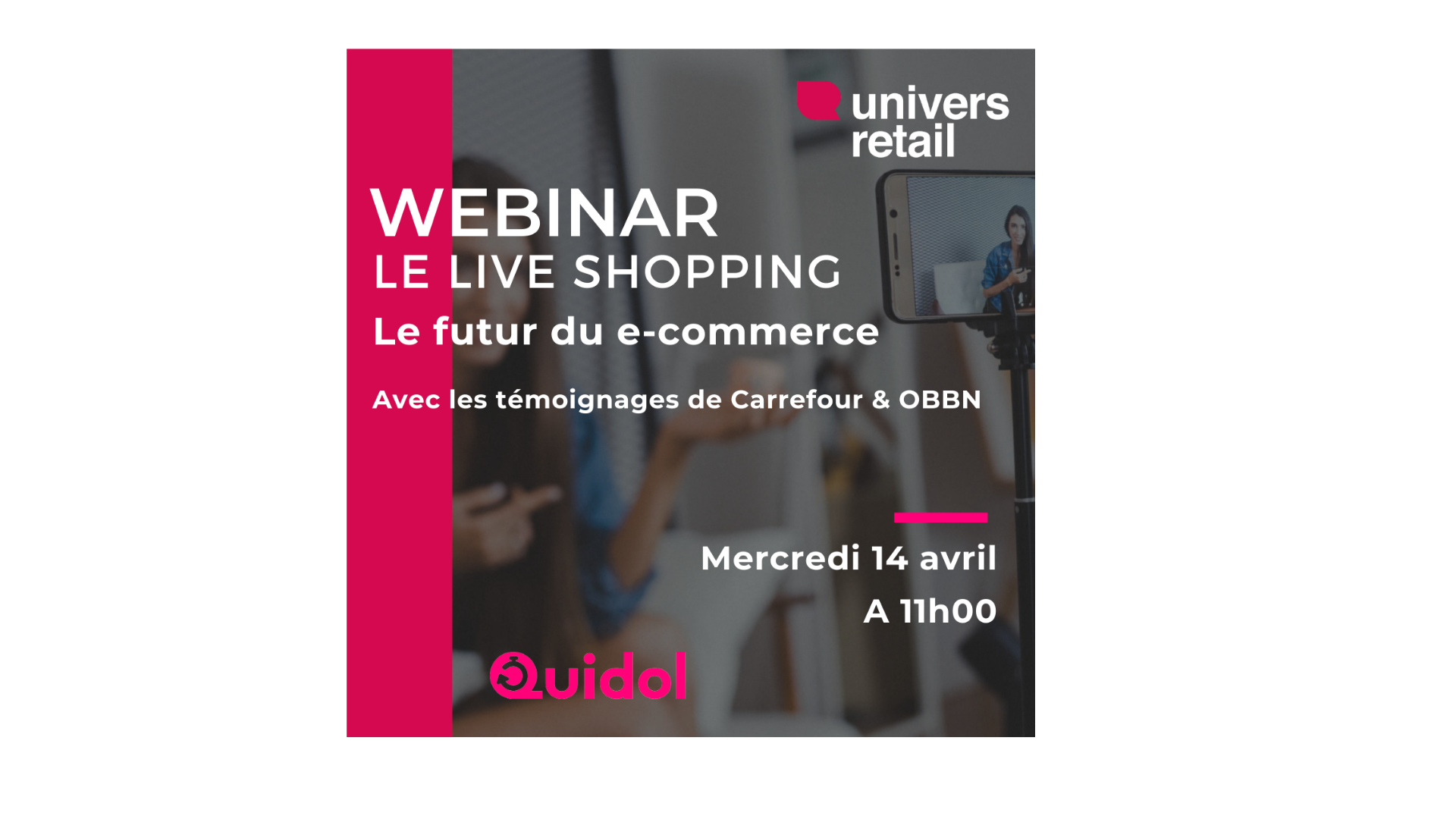 "Replay Webinar ""Live Shopping : le futur du e-commerce """