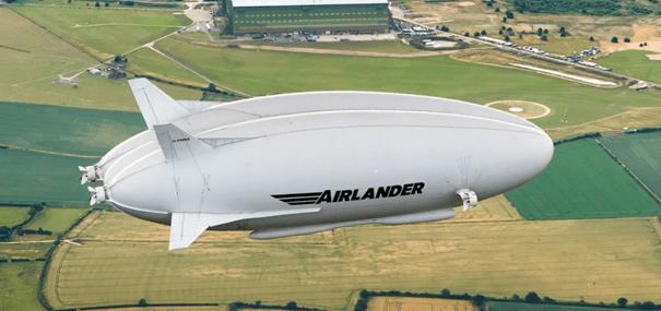Dirigeable Airlander - HAV