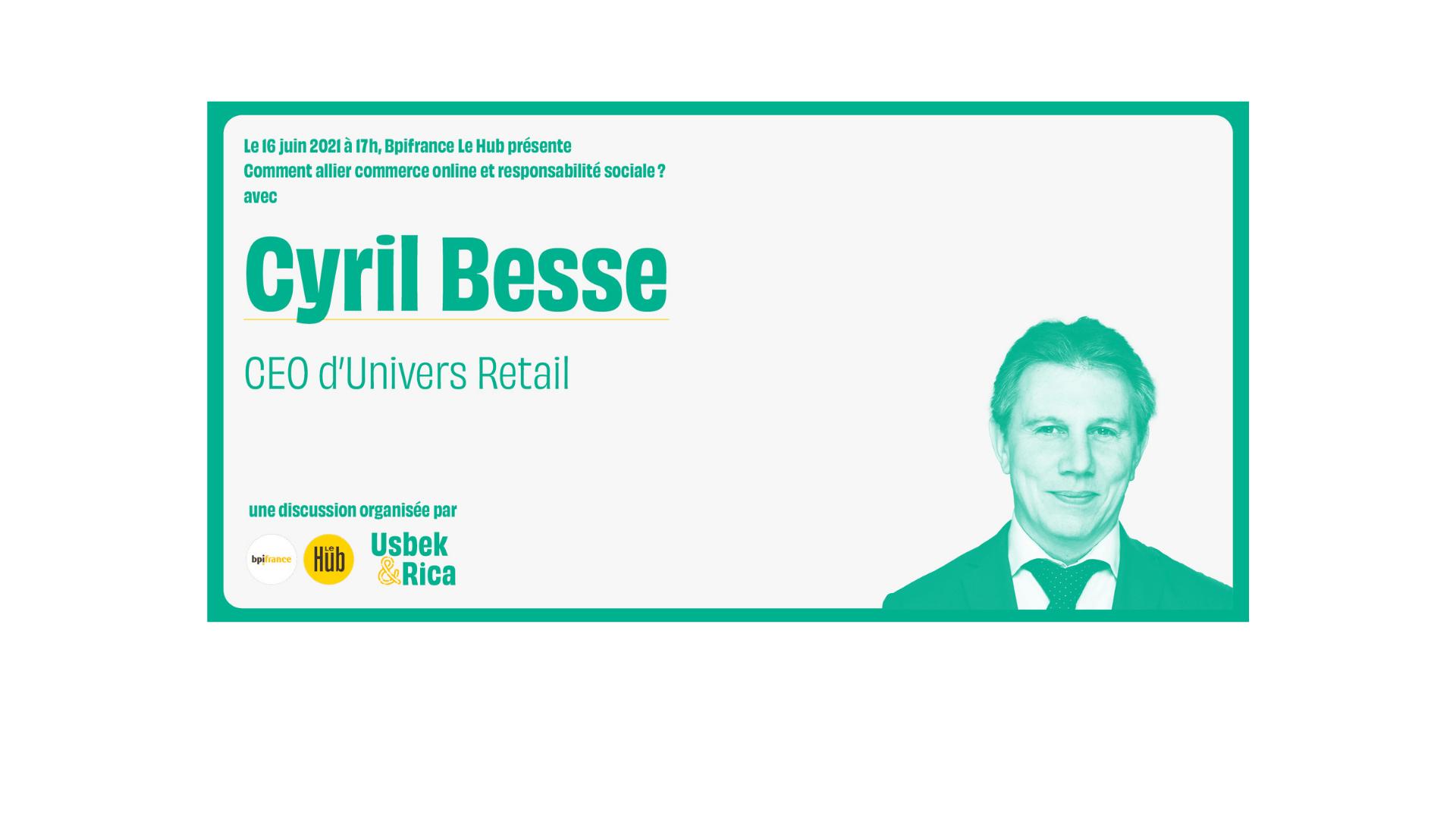"""Replay – Conférence live """"Commerce online et responsabilité sociétale"""""""