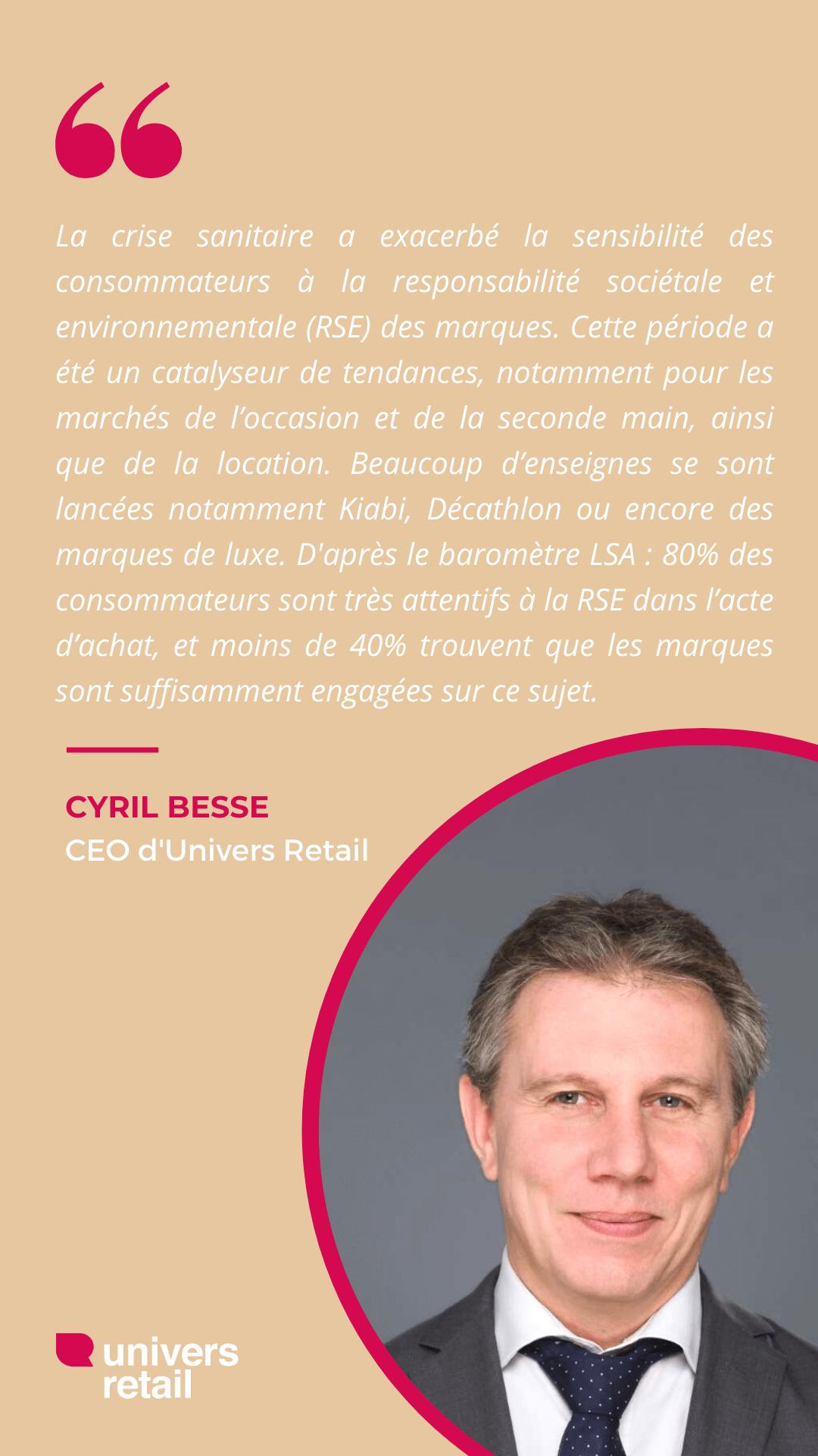 Citation Cyril Besse - Totem